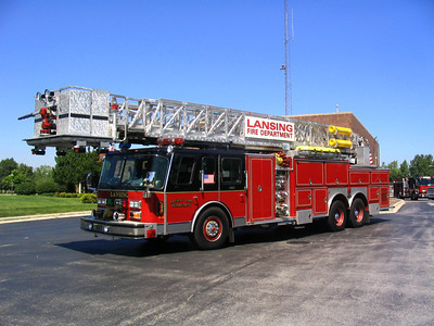 LANSING FD  E-ONE TOWER