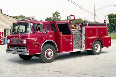 LYNWOOD  ENGINE 1860   1981 FORD C8000  - FMC    1000-750