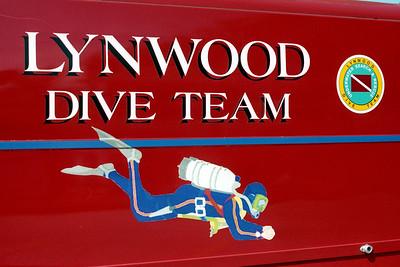 LYNWOOD  DIVE TEAM LOGO