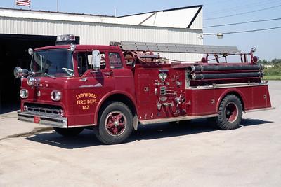 LYNWOOD  ENGINE 1830  FORD C800 - AMERICAN   750-500