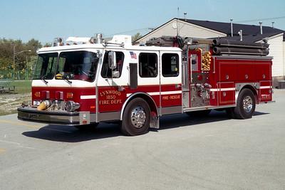 LYNWOOD  ENGINE 1850  1988 E-ONE HURRICANE   1500-750   #6630
