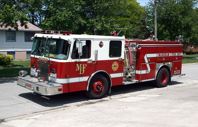 MARKHAM ENGINE 1532  SPARTAN - E-ONE