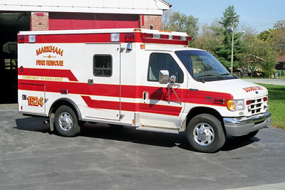 MARKHAM  AMBULANCE 1524  FORD E350 -