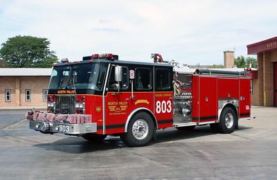 NORTH PALOS  ENGINE 803   E-ONE