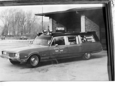 NORTH PALOS AMB 806  1968 OLDSMOBILE