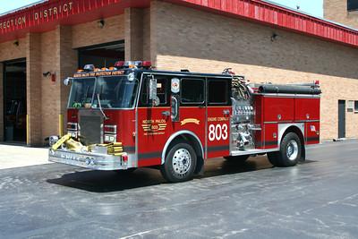 NORTH PALOS ENGINE 803  SPARTAN