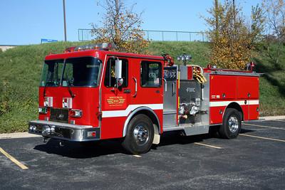 NORTH PALOS ENGINE 833  SPARTAN - FMC