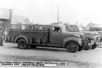NOTTINGHAM PARK  1939 DODGE - DARLEY  500-500