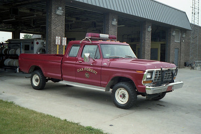 OAK FOREST UTILITY 92  1979 FORD F250  PICKUP