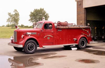 OAK FOREST  ENGINE 92  1948 PIRSCH  750-500