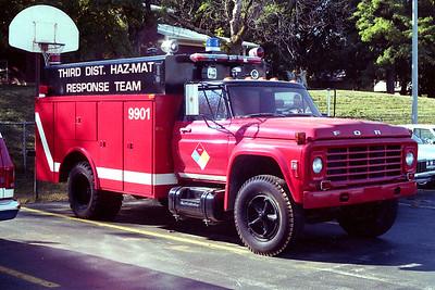 THIRD DISTRICT HAZMAT 9901