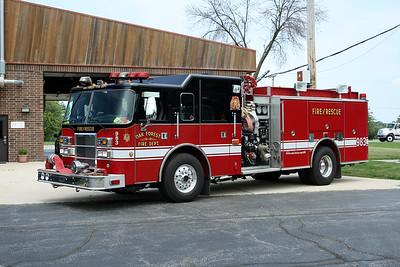 OAK FOREST ENGINE 983  2008 PIERCE DASH  1500-500   #17232