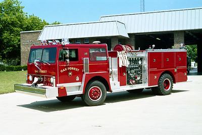 OAK FOREST ENGINE 96  1978 HENDRICKSON-DARLEY  1250-500