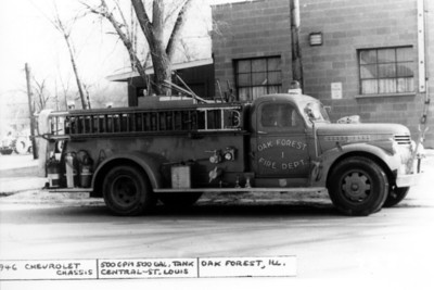 ENGINE 91  1946 CHEVY - CENTRAL ST
