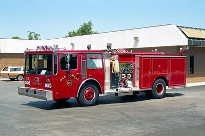 OAK FOREST  ENGINE 992  HENDRICKSON - DARLEY  1250-500