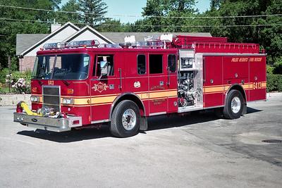 PALOS HEIGHTS  ENGINE 6413  PIERCE LANCE