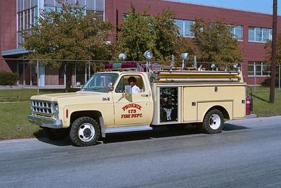 PHOENIX FD  ENG 1705  1977 - 1979  GMC-INDIANA FIRE APPARATUS  250-350  BF