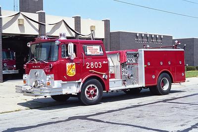 POSEN ENGINE 2803  MACK CF  1976 MACK CF  1250-500  BF