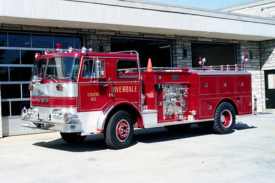 RIVERDALE FD  ENGINE 821  1970  FWD   1250-500