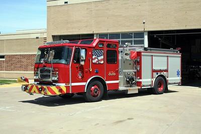 RIVERDALE FD  ENGINE 836   2011  E-ONE TYPHOON   1500-1000   #36710