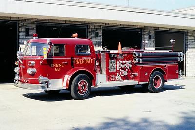 RIVERDALE FD  ENGINE 83  1961  ALFCO 900   1250-500