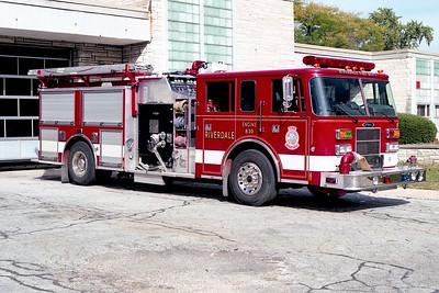 RIVERDALE FD  ENGINE 830  1995  PIERCE SABER   1500-750   E-8771