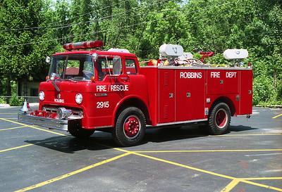 ROBBINS S-2915 1972 FORD C-PIERCE  250-250  X-McCOOK FD