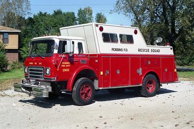 ROBBINS 2905  1971 IHC-WELCH   X-BARRINGTON FPD