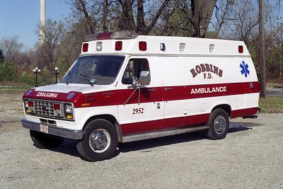 ROBBINS A 2952  1983 FORD-WHEELED COACH
