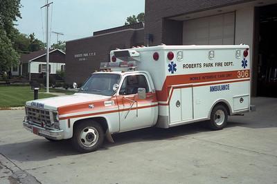 ROBERTS PARK FPD  AMB 306