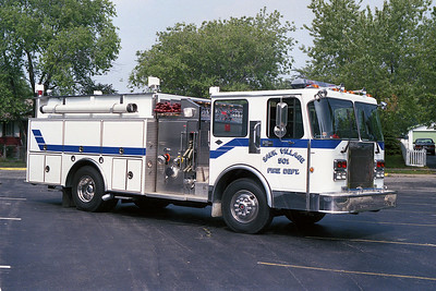 SAUK VILLAGE FD  ENGINE 501 SPARTAN