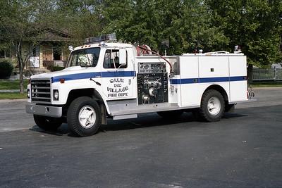 SAUK VILLAGE FD  ENGINE 502  IHC S