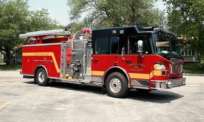 SAUK VILLAGE FD  ENGINE 5101
