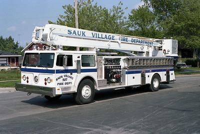 SAUK VILLAGE FD  TRUCK 507