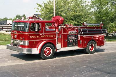 SAUK VILLAGE FD  ENGINE 505 IHC