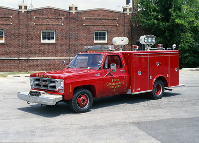 SOUTH CHICAGO HEIGHTS FD  RESCUE 6