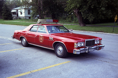 SOUTH CHICAGO HEIGHTS FD CAR 760