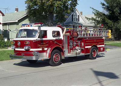 SOUTH CHICAGO HEIGHTS FD ENGINE 4 REHAB