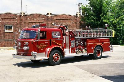 SOUTH CHICAGO HEIGHTS FD  ENGINE 4 ORIGINAL