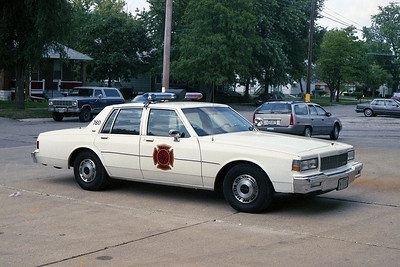 SOUTH CHICAGO HEIGHTS FD  CAR 760  CHEVY