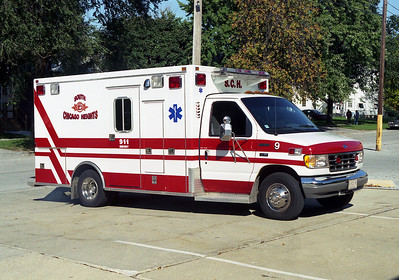 SOUTH CHICAGO HEIGHTS FD AMBULANCE 9