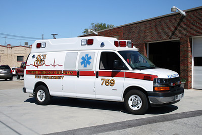SOUTH CHICAGO HEIGHTS AMBULANCE 769
