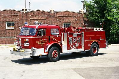 SOUTH CHICAGO HEIGHTS FD  ENGINE 1 ORIGINAL