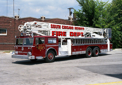 SOUTH CHICAGO HEIGHTS FD  TRUCK 5
