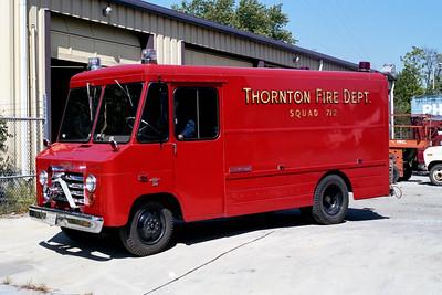 THORNTON FD  RESCUE 712  1966  CHEVY 30 STEPVAN