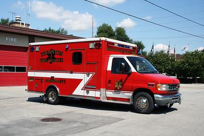 THORTON FD AMBULANCE 765  2009  FORD E450 - MEDTEC