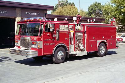 THORNTON FD  ENGINE 740  1984  SPARTAN - PIEREVILLE   1250-750