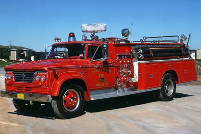 TINLEY PARK FD  ENGINE 206  DODGE-