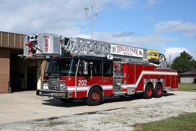 TINLEY PARK TRUCK 202   E-ONR 95'