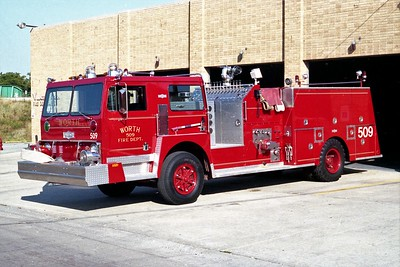 WORTH FD  ENGINE 509  1980  HENDRICKSON 1871W   1500-500